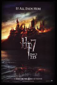 harry potter and the ly hallows part 2 poster