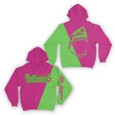 Big Mouth Hoodie - <b>Pink & Green</b> – 6ix9ine