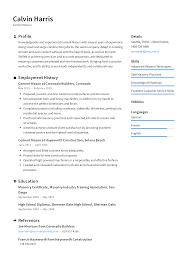 Cement Mason Resume Templates 2019 Free Download Resume Io