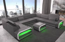 design seattle u sofa in grey white