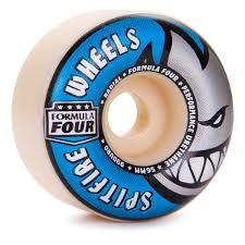 spitfire 56mm. spitfire formula four radial skateboard wheels - 56mm 99a