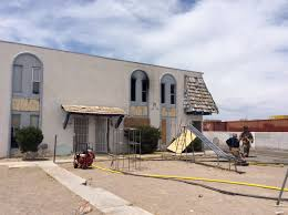 nine residents were displaced in a fire at the desert garden apartments 1720 w