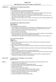 Grinder Sample Resumes Machinist CNC Resume Samples Velvet Jobs 6