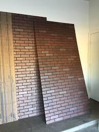 brick wall panels faux stone brick siding