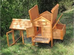 plan de poulailler en bois gratuit génial poulailler en bois fait maison idée intéressante pour la