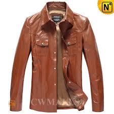 leather shirt for men cw807012 cwmalls com