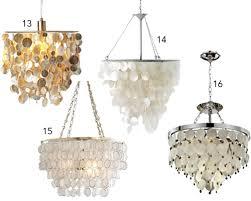 16 capiz shell pendants chandeliers capiz lighting chandelier