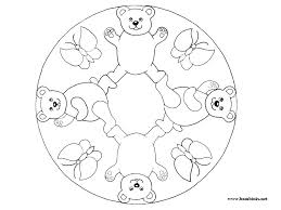 Easy Mandala Coloring Pages Pdf Coloring Pages Mandala Easy Simple