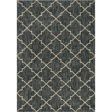 orian rugs looking glass plush trellis blue 5 ft x 8 ft area rug