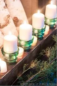 turn old industrial vintage glass insulators into elegant party lights or tea light centerpieces or