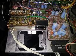 my first cleaning fisher mc 3000 integrated component reciever w power supply