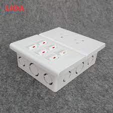 Combo ổ cắm điện đôi 3 chấu 16A (3520W) + 6 công tắc điện LiOA - Lắp âm  tường