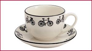 if you re tea and bicycle mad like us this little teacup and saucer is a great gift for you or that special someone this cup also es as part of a set