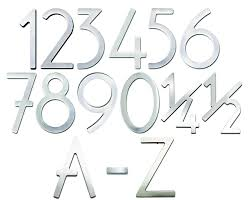 Decorating apartment door numbers pictures : Self-Adhesive 3