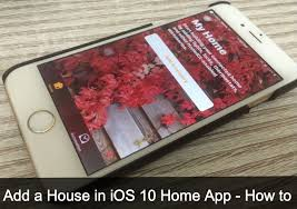 Control house lights with iphone Sichargentina How To Add House In Ios 10 Home App Iphone Ipad How To Add House In Ios 10 Home App Iphone Ipad
