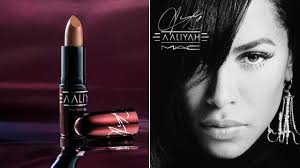 here s a first look at the m a c x aaliyah makeup collection