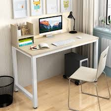 Simple Modern Office Desk Portable Computer Desk Home Office Furniture  Study Writing Table Desktop Laptop Table