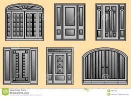 Six different kinds of Door Frames