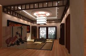 Japanese Living Room Unique Japanese Inspired Home Interior Design Home Design Ideas 2017
