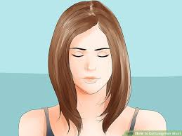 image titled cut long hair short step 2