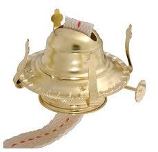2 brass plated oil burner