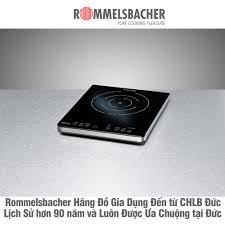 Bếp từ đơn dương chính hãng Rommelsbacher - CHLB Đức (CT2100/IN)