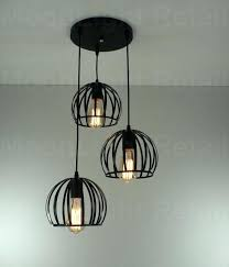 loft industrial iron cage. Black Ceiling Light Vintage Industrial Metal Cage Cafe Loft Bar Pendant Lamp Cable Iron R
