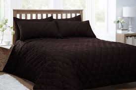 king bed throw dark brown quilted king size throw set with pillow shams amaz on gold