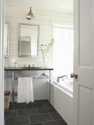 slate floor bathroom view full size