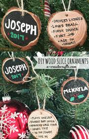 the office ornaments. DIY Wood Slice Ornaments - Personalize On Back With Memories! The Office H