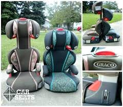 graco high back booster seat replacement cover
