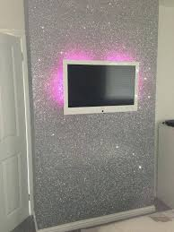 silver glitter wallpaper sent it to us