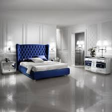 mirrored furniture. Bedroom Mirrored Chest Of Drawers Bedside Cabinet Blue Velvet Bed Furniture In Your Home