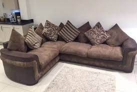 dfs jumbo cord corner sofa and swivel cuddle chair in rochester throughout idea 9