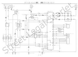 starlet electrical wiring diagram wiring diagrams and schematics motorcycle electrical wiring diagram th instruction manuals