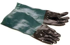 gloves for sand blasting cabinet short replacement gloves sb1gkj 02076