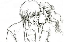Cute Couple Sketch Wallpaper Hd Love Couple Sketches Cute Love