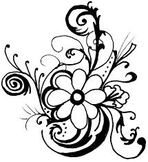 hawaiian flower clip art borders