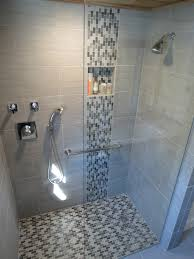 mosaic glass shower tile designs and glass shower stall designs