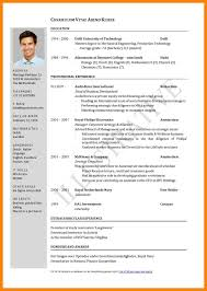 Samples Of Curriculum Vitae Curriculum Vitae Samples Vfix24us 12