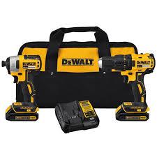 dewalt 20v drill. 20v max brushless drill impact driver combo kit dewalt 20v n