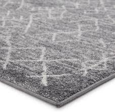 jaipur living copeland trellis gray white area rug scandinavian area rugs by jaipur living