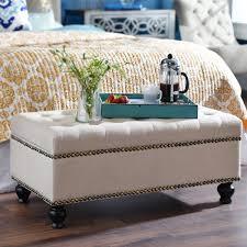 foot of bed furniture. bedroom decorating ivory ottoman at end of bed kirklandu0027s foot furniture i