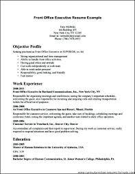 Front Office Agent Sample Resume Nfcnbarroom Com