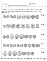 2 nd grade money worksheets newfangled photos printable counting ...
