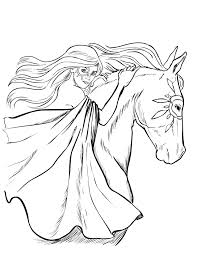 free horse coloring pages selah works coloring books color print