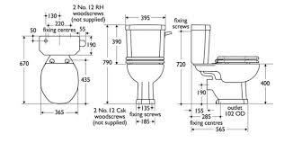 dimensions of a standard toilet. dimensions of a toilet standard pinterest