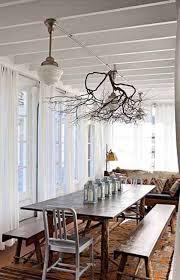creative diy ideas for rustic tree branch chandeliers