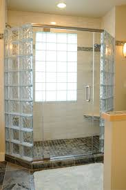 glass block bathrooms charming on bathroom regarding 5 myths about how to anchor a shower wall