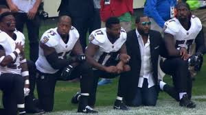 Image result for nfl kneeling images